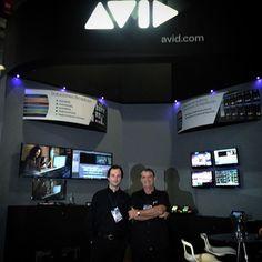 Imanol Zubizarreta y Santiago Santocono Especialistas de Aplicaciones #Avid #MediaComposer #iNews #PlayMaker #Maestro #Emisión #broadcast #Interplay #Graficos #Graphics