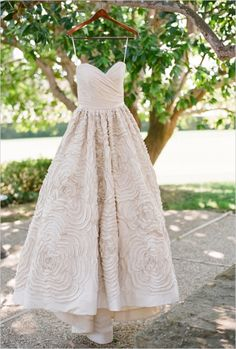 Wedding Dresses: Romantic Floral Wedding Dress // Photo Captured by Pat Moyer via Wedding Chicks - Lover.ly