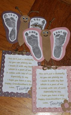 An awesomely cute idea for Grandmother's Day (whenever that is!)