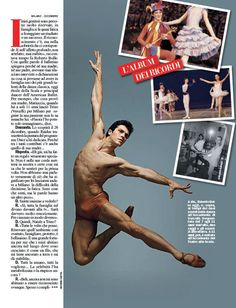 The special woman in Roberto Bolle's life comes forward - Roberto-Bolle-Chi-magazine-2