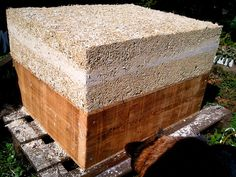 Homemade hemp brick prototype    http://www.hanfsamen-kaufen.at/  http://thehempoilbenefits.com