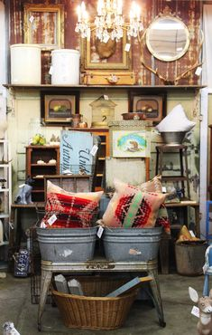 Monticello Antique Marketplace Booth Display
