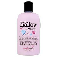 treaclemoon Marshmallow Hearts bath & shower gel / 500ml £2.99