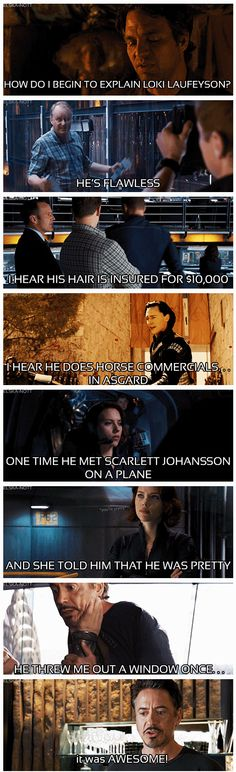 The Avengers ...How do I begin to explain, Loki Laufeyson?
