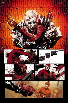 Old Man Logan - Andrea Sorrentino