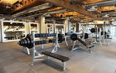 David Barton Gym | Wolcott Architecture | Interiors