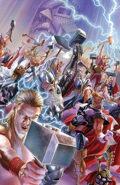 The Marvel Universe is dead. Long live the Marvel Universe. We ask 10 questions we still have about SECRET WARS and the end of the current MU and the upcoming New Marvel U. Online Comics, Marvel Comics Art, Marvel Comic Books, Marvel Characters, Comic Books Art, Alex Ross, Secret Wars 2, Marvel Secret Wars, Marvel Vs