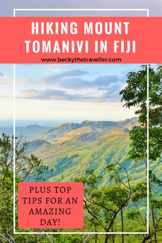 Hiking Mount Tomanivi - Ever wanted to climb Fiji's highest mountain? Hiking Mount Tomanivi is a challenging day hike in Fiji, but worth it for the gorgeous views at the top. The Fijian Sevens Rugby team even hiked Mount Tomanivi as part of their training for the Rio Olympics and won a gold medal! Includes tips for hiking and what to take.| Climbing Mt Tomanivi | Mt Tomanivi Hike | #fiji | #mountain | #travel Travel Guides, Travel Tips, Fiji Travel, Asia Travel, Solo Travel, Budget Travel, Fly To Fiji, Fiji Culture, Visit Fiji