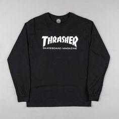 f786d0fb48ec Thrasher Tshirt, Thrasher Skate, Graphic Sweatshirt, T Shirt, Long Sleeve  Tees,