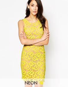 Max C Lace Bodycon Dress