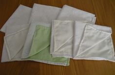 """Prem Baby Blankets 12"""" and 15"""" Squares"""