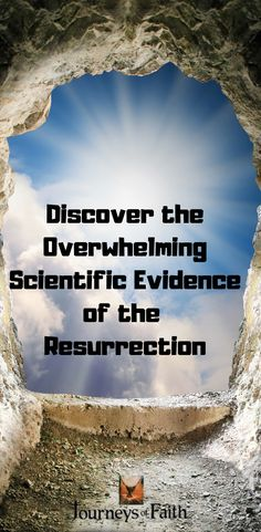 Discover Overwhelming Scientific Evidence For the Resurrection of Jesus Crucifixion Of Jesus, Jesus Christ, Lives Of The Saints, Because He Lives, Jesus Resurrection, Finding God, Catholic Saints, Bible Lessons, Before Us
