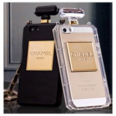 New Cute Trendy Paris Perfume Bottle iPhone 5/5S 6 Case With Removable Chain #Elle3B