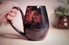 Galaxy Ceramics -  Galaxy-Inspired Ceramics That Let You Drink From The Stars