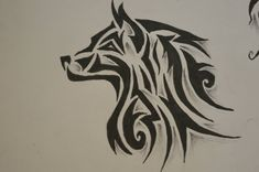 Tribal Wolf Tattoo Design Tattoos | Tattoo Designs Ideas