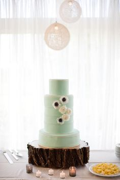 Mint Cake - lovely colour for a wedding cake
