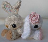 2000 Free Amigurumi Patterns: Craft Pattern: Crochet Spring Bunny