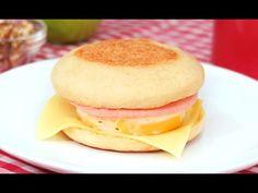 Muffin Inglés   Pan sin Horno esponjoso ideal para desayunar! - YouTube