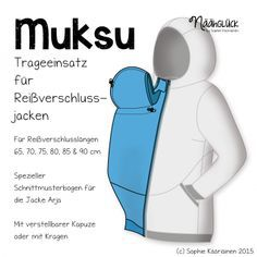 Näähglück Onlineshop - eBook Muksu - Trageeinsatz Such a cool thing, wish I'd had that for my boys.