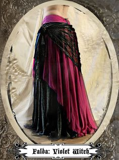 A Violet Witch  ( Skirt Only ). $260.00, via Etsy.