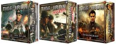 Attention Gamers! See what's new with our Tide of Iron: Next Wave #boardgame, and Celebrate the Start to the Holidays with the Tide of Iron Crazy Ivan #Sale!