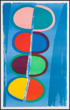 Artwork page for 'Moonship', Sir Terry Frost, 1972 Sonia Delaunay, Umea, Abstract Expressionism, Abstract Art, Abstract Paintings, Nadir Afonso, Modern Art, Contemporary Art, Pop Art