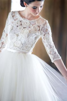 Long Sleeve Wedding Dress image by http://charlottejenkslewis.com/