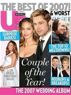 Brad Pitt - US Weekly Magazine [United States] (24 December 2007)