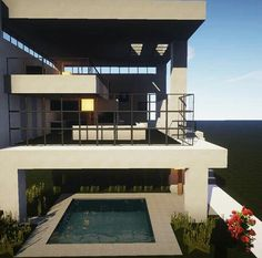 Minecr4ft_biome build modern home