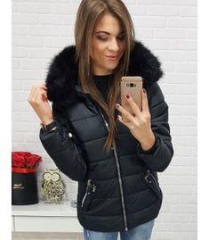 Bunda dámska zimná prešívaná čierna Winter Jackets, Fashion, Winter Coats, Moda, Winter Vest Outfits, Fashion Styles, Fashion Illustrations