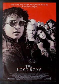 'The Lost Boys' - Kiefer was such a bad boy spunk and Corey Haim was my idol!!