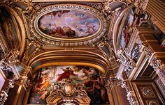 Opera Garnier. Love opera? Go to: http://pinterest.com/rokalily/fashionarchitecture-meet-in-a-night-at-the-opera/