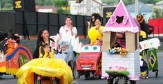 'Corrida Maluca' mobiliza crianças cadeirantes em Porto Alegre
