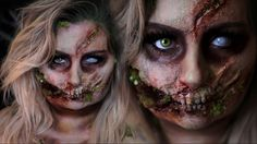 ROTTEN GLAM ZOMBIE | Halloween Costume Makeup Tutorial | 31 Days of Hall...
