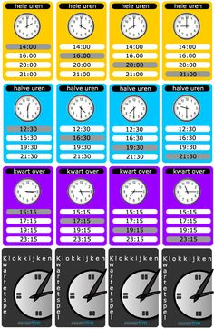 Telling Time to the Quarter Hour Bingo - 25 Different Game Boards - CCSS After School, Pre School, Math Clock, Job Info, Teaching Time, Karaoke, Math Classroom, Maths, School Hacks