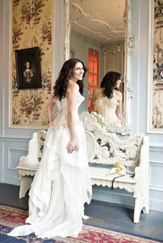 Sharon den Adel, mezzo-soprano lead vocalist of Within Temptation - also designs a lot of her own clothing. double like :]