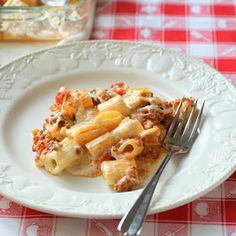 elbow macaroni) 1/2 pound lean ground beef, turkey or Italian sausage ...
