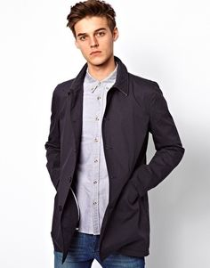 Order ASOS Mac online today at ASOS for fast delivery, multiple payment options and hassle-free returns (Ts&Cs apply). Get the latest trends with ASOS. Asos Men, Summer Jacket, Piece Of Clothing, Cool Style, Raincoat, Mac, Suit Jacket, Blazer, How To Wear