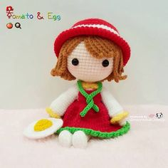 Tomato & Egg dolly. Too sweet to be eaten  番茄炒蛋