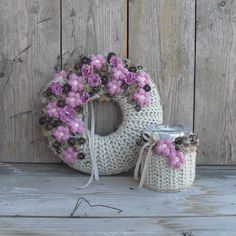 Christmas Advent Wreath, Xmas, Christmas Tree, Topiary, Diy And Crafts, Floral Wreath, Shabby Chic, Wreaths, Pure Products