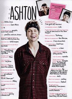 Awww ash! It makes me sad he said he's insecure!