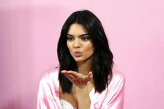 Model Kendall Jenner poses for a ph