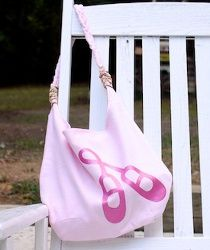 Ballet bag, but I want to make one and it be green for my soccer loving kid!