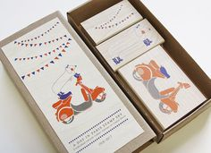 A Day in Paris Stamp Set by tarahogan on Etsy, $50.00