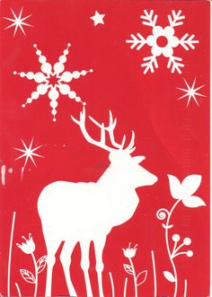 Christmas Reindeer | by Mailbox Happiness-Angee at Postcrossing