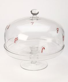 Take a look at this Candy Cane Cake Dome & Plate by Home for the Holidays: Entertaining on #zulily today!