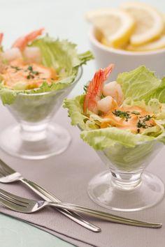 Cocktail di gamberetti - Shrimps cocktail