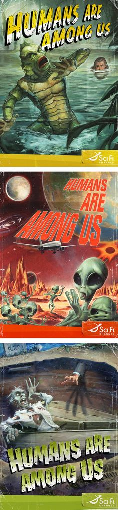 Humans are among us SciFi by Michael Koelsch