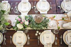 Rustic elegant tablescape | Susanne Ashby Photography