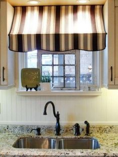 Kitchen Window Canopy kitchen created with two tension rods I LOVE THESE.I need a kitchen window Interior Modern, Window Canopy, Kitchen Window Treatments, Kitchen Window Coverings, Parasol, Home Projects, Kitchen Design, Bistro Kitchen Decor, Kitchen Ideas